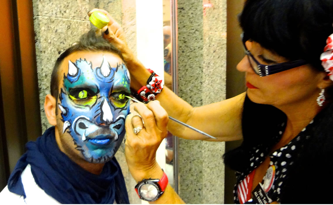 face painting monsters and gore 69