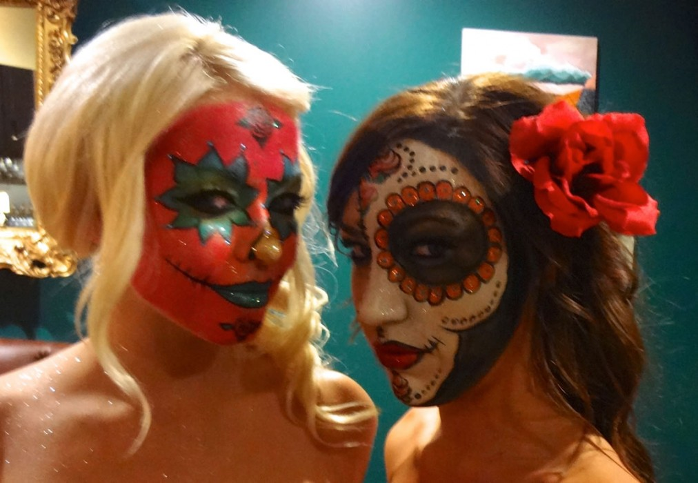 face painting monsters and gore 74