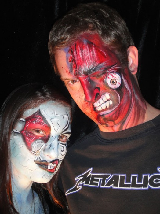 face painting monsters and gore 77