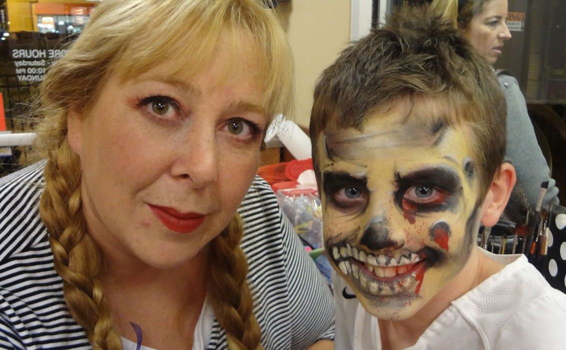 face painting monsters and gore 78