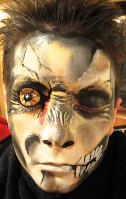 face painting monsters and gore 88