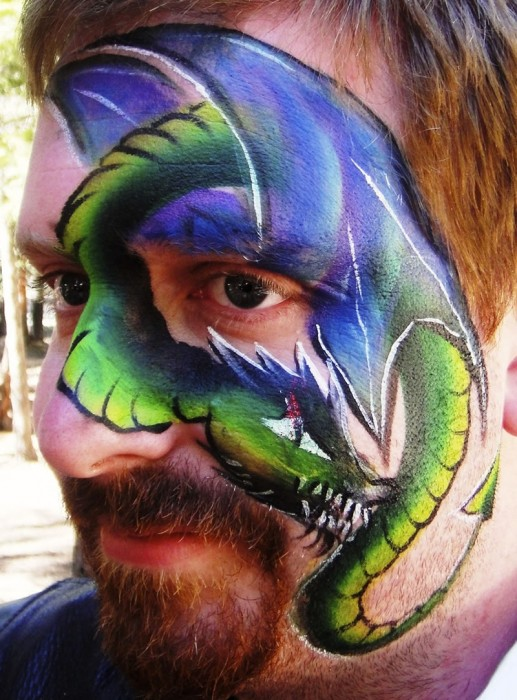 face painting monsters and gore 90