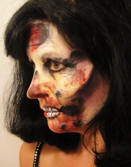 face painting monsters and gore 95
