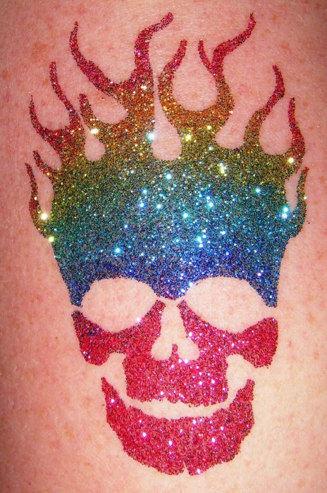 Glitter and airbrush tattoos for Where to get glitter tattoos