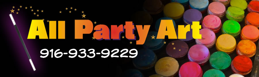 All Party Art Sacramento Face Painting and Balloon Twisting