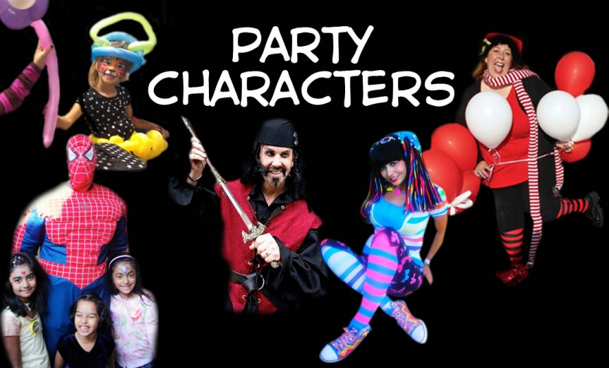 party characters
